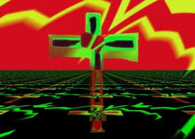 OldCross-LightningGreenPlanar